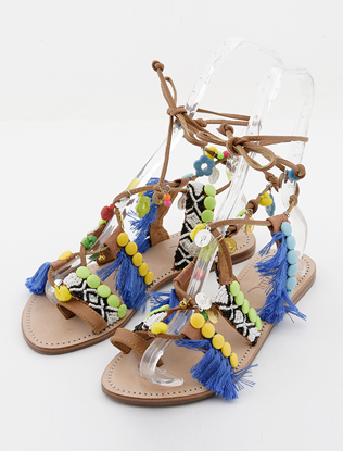 LUXE nomad sandal-blue(촬영용)